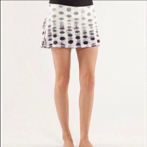 Lululemon Pace Setter Polka Dot Skirt, 6☀️